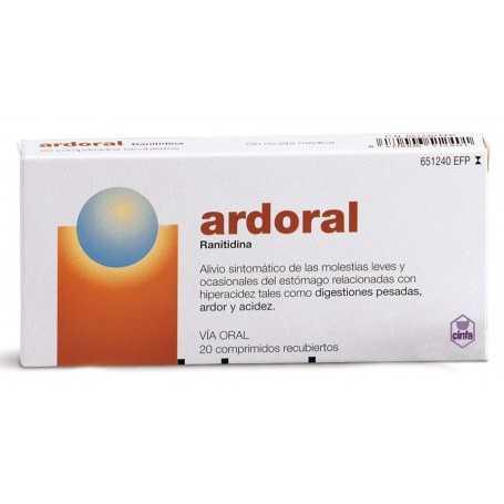 ARDORAL 20 COMPRIMIDOS