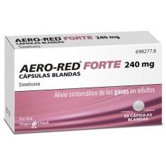 AERO RED FORTE 240 MG 20 CAPSULAS