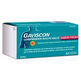 GAVISCON 32 COMPRIMIDOS SABOR FRESA