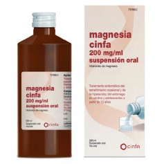 Magnesia Cinfa 200 MG/ML Suspensión Oral 260 ML