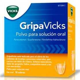 Gripavicks Polvo Solución Oral 10 Sobres
