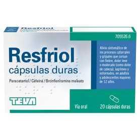 Resfriol 20 Cápsulas Duras