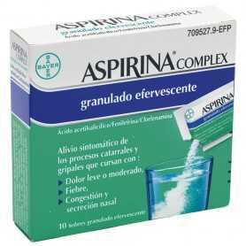 Aspirina Complex Efervescente 10 Sobres