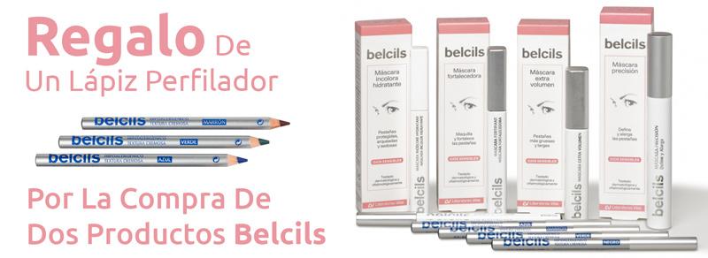 Promociones de farmacia online: Regalo de un lápiz perfilador por la compra de dos productos Belcils