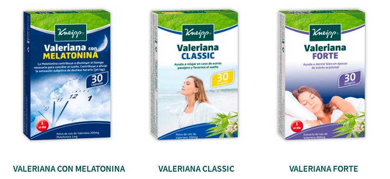 Productos a base de plantas medicinales para la relajación