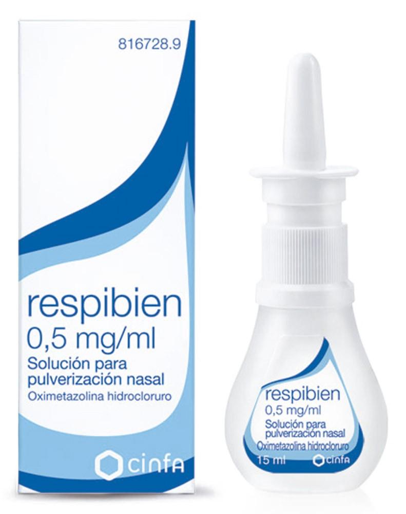 Respibien 0,5 MG/ML Nebulizador Nasal 15 ML