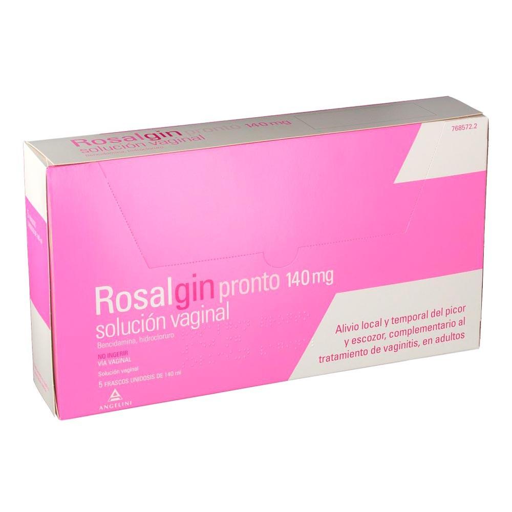 Rosalgin Pronto 140 MG Solución Vaginal 5 Unidosis